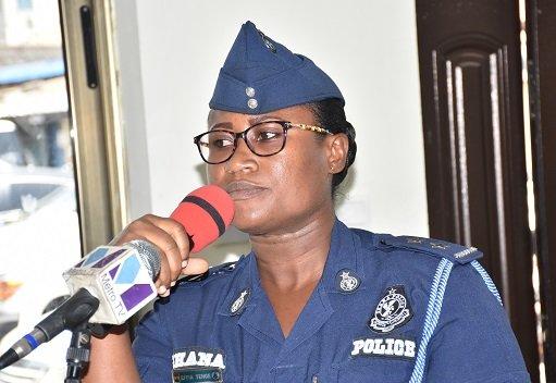Deputy Police Public Relations Officer, DSP Efia Tenge
